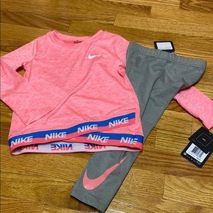 Nike 2 piece set 2-3 years NWT